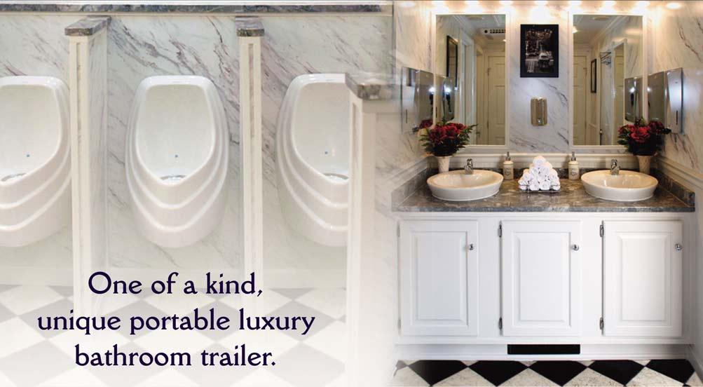 Restroom Trailer in New York