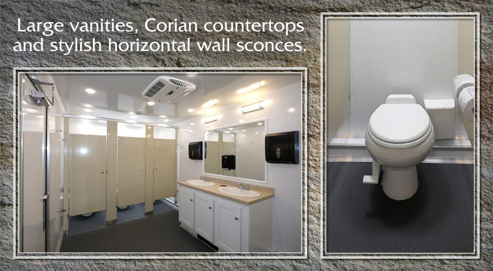 Construction Portable Restroom Trailer
