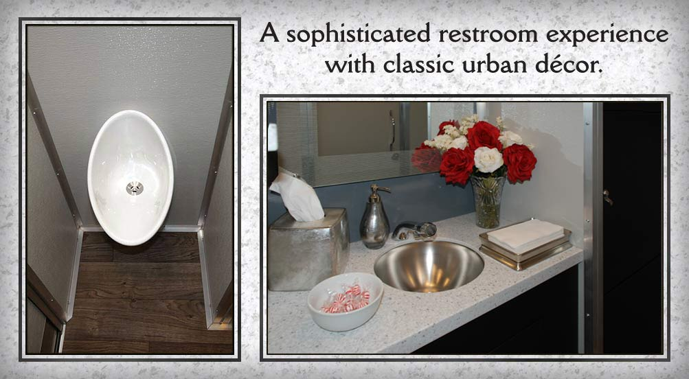 Portable Toilet Exhibition : Restroom trailers new york: the soho luxury restroom trailer by