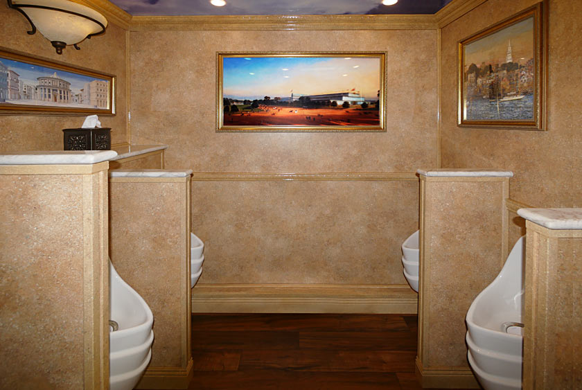 The Versailles Trailer Restroom Trailer