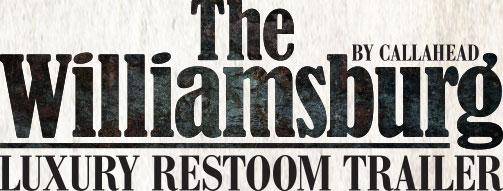 The Williamsburg Luxury Restroom Logo
