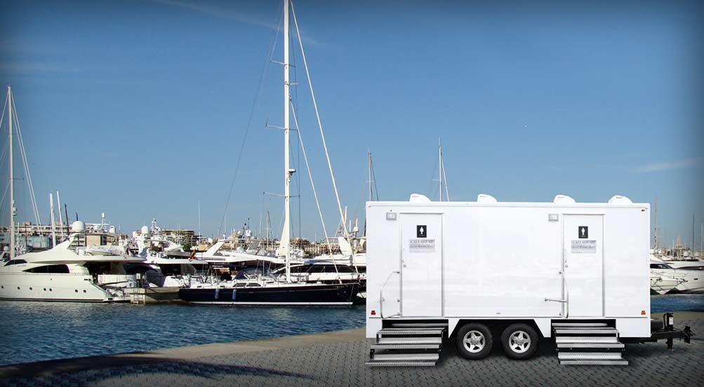 The Yachtsman Portable Restroom Trailer