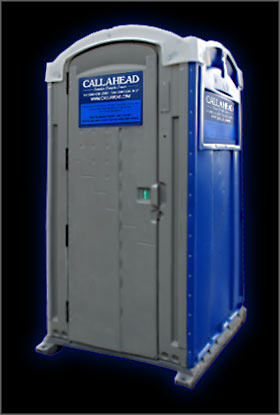 The Royal Blue Portable Toilet
