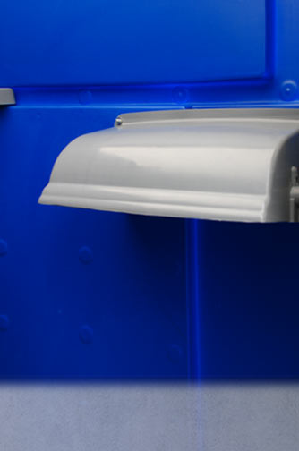 The Royal Blue Portable Toilet Special Events Portable