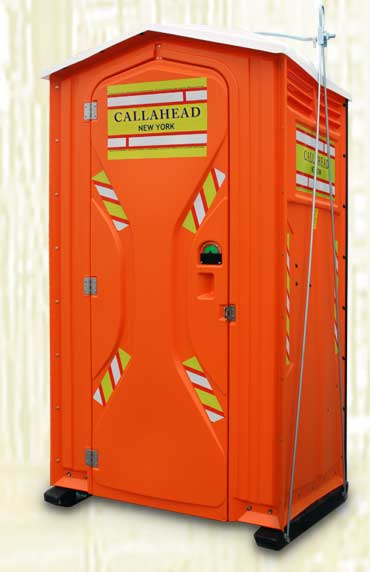 The Safety Head Portable Restroom
