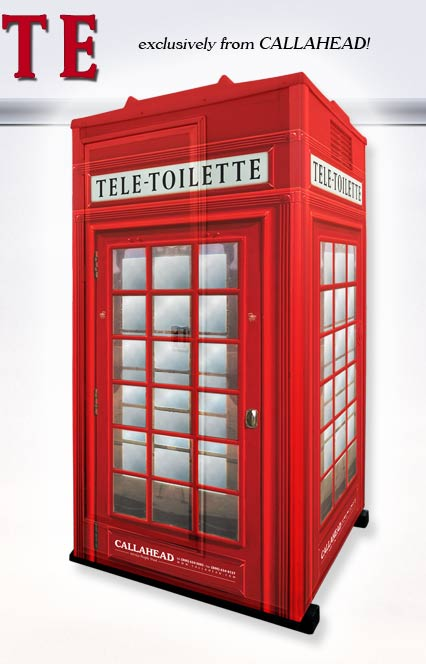 The Tele-Toilette Portable Toilet for Special Events