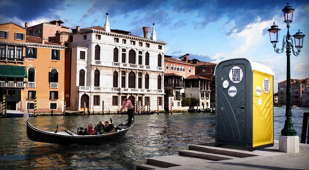 European Restroom Toilet