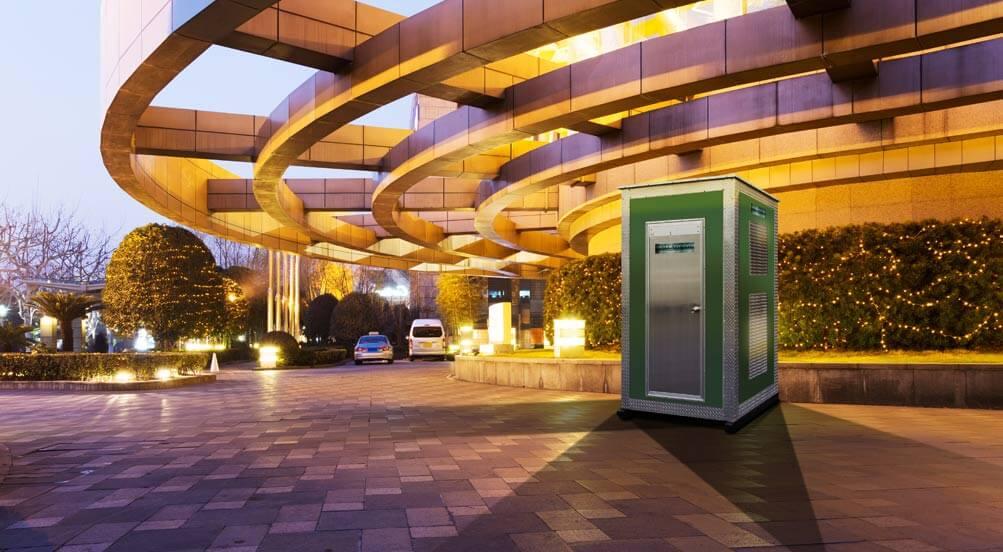 Restroom Toilet for Job Sites