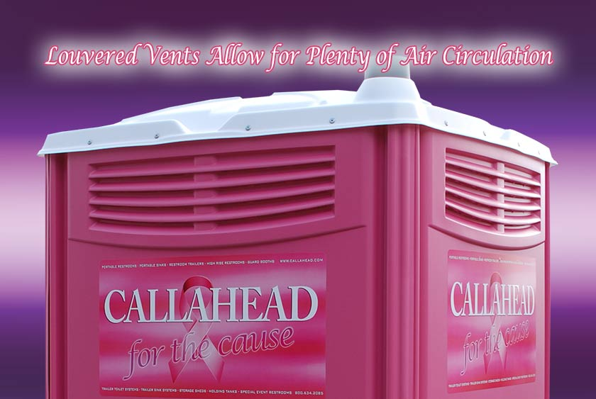 The Pink Ribbon Portable Restroom Pink By Callahead 1
