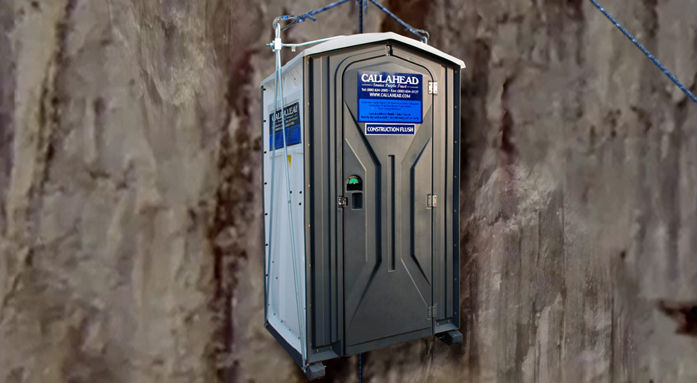 Portable Toilet for Hi-Rise