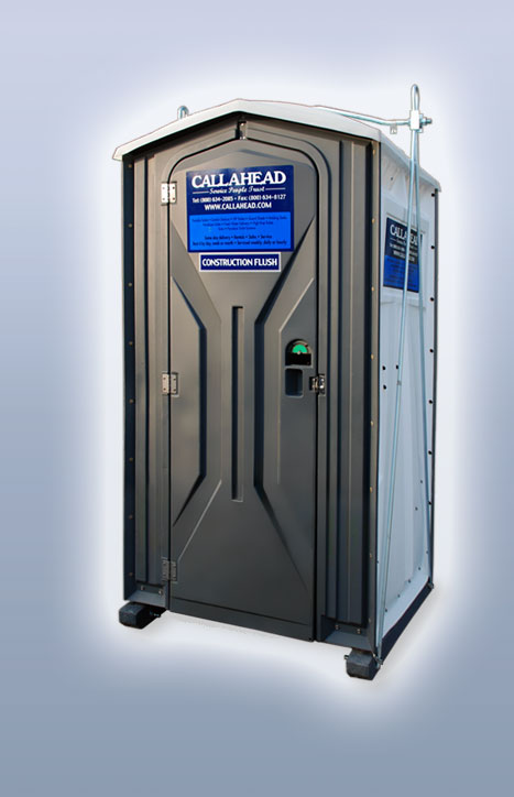 Portable Toilet with Steel Sling for High Rise
