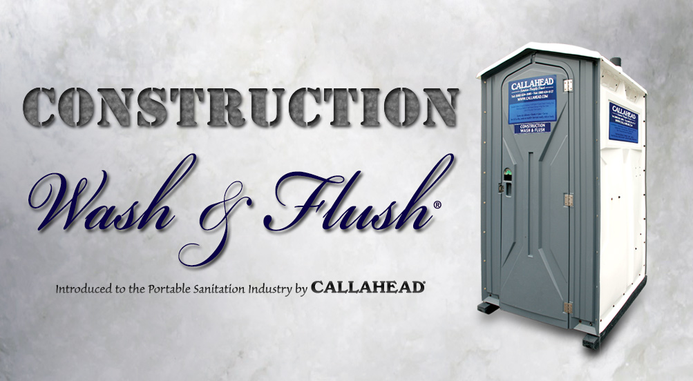 Construction Wash and Flush Porta Potty in NYC