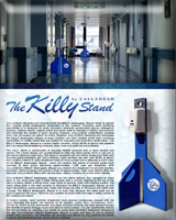Portable Antiseptic Gel Stand - The Killy Stand