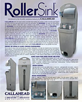 Portable Sink - The Roller Sink