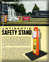 Portable Antiseptic Gel Stand - The Safety Stand